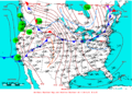 2009-03-22 Surface Weather Map NOAA.png