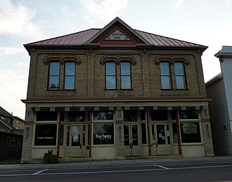 Montgomery, Minnesota - Hilltop Hall is listed on the National Register of Historic Places.