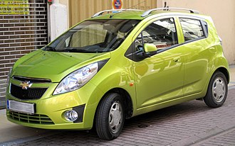 GM Uzbekistan - Image: 2010 Chevy Spark LS (4359987176)