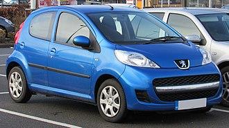 Peugeot 107 - Peugeot 107 facelift (2009)