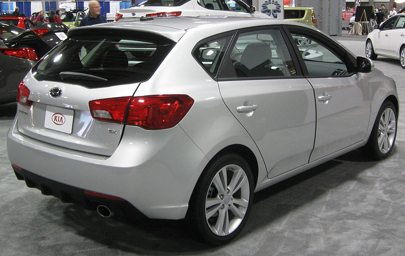 The all-new 2011 Kia Forte 5 door hatchback joins Kia Forte sedan and