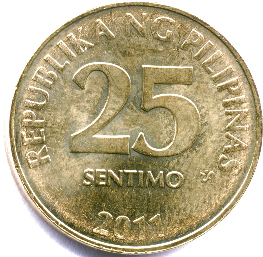 Coin Ph: File:2011phil25centobv.jpg