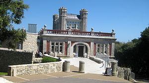 Durlston Castle - Durlston Castle, main entrance 2012