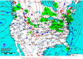 2013-01-31 Surface Weather Map NOAA.png