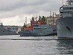 2013-08-30 Севастополь. Тральщик M1061 Rottweil ВМС Германии (1).JPG