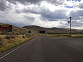 2014-08-19 14 54 55 View south along Nevada State Route 225 (Mountain City Highway) about 95.6 miles north of Nevada State Route 535 (Idaho Street) in Owyhee, Nevada.JPG