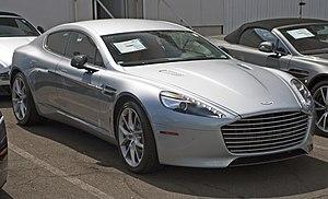 Aston Martin Rapide - Image: 2014 AM Rapide S front