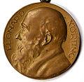 2015-03-27 Leonard Körting Medaille 70 Jahre Maurer 1925 Loge Zum Schwarzen Bär Shahnaz Taheri Photo Lill Hannover1b.jpeg
