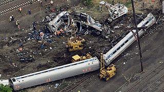 2015 Philadelphia train derailment Amtrak train derailment