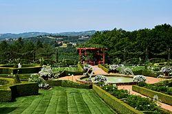 le jardin blanc - Jardin D Eyrignac