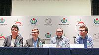 2015 Wikimania press conference - JS - 4.jpg