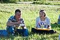 2016-07-18 18-59. Ужин на траве. Игорь Гайворон, Яна Кузьменко.jpg