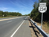 2016-10-11 12 12 58 View north along Virginia State Route 234 Business (Dumfries Road) at Virginia State Route 234 (Prince William Parkway) in Buckhall, Prince William County, Virginia.jpg