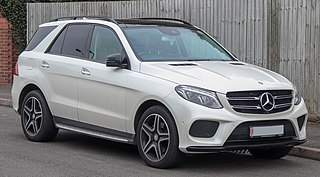 Mercedes-Benz GLE-Class Mid-size luxury 4x4 car