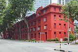 2016 Singapur, Chinatown, Ulica Maxwell, Red Dot Design Museum (01).jpg
