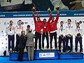 2016 World Modern Pentathlon Championships - Victory Ceremony Team Men.jpg