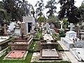 2017 Santiago de Chile - Tumbas en el Cementerio General.jpg