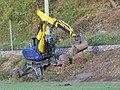 2018-10-30 (852) Walking excavator Kaiser S12 at Mariazellerbahn in Rabenstein an der Pielach, Austria.jpg