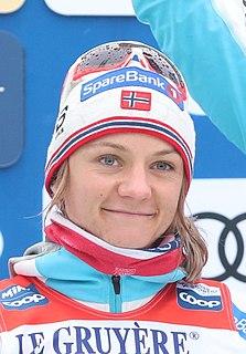 Maiken Caspersen Falla Norwegian cross-country skier