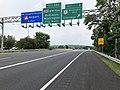 2019-06-05 16 13 44 View east along Interstate 195 (Metropolitan Boulevard) at Exit 3 (U.S. Route 1-Washington Boulevard, Elkridge) in Arbutus, Baltimore County, Maryland.jpg