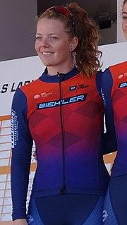 Melanie Klement Dutch cyclist