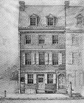 George Escol Sellers - Sellers' birthplace – Mulberry Court
