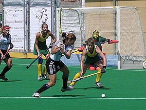 Argentina women's national field hockey team - Image: 2 AG ARGENTINA AUSTRALIA