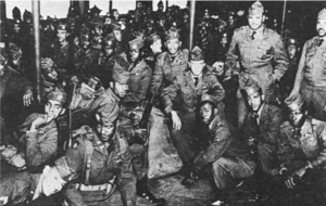 2nd Ranger Infantry Company (United States) - The 2nd Ranger Company on a ferry in San Francisco, en route to Korea in 1950.