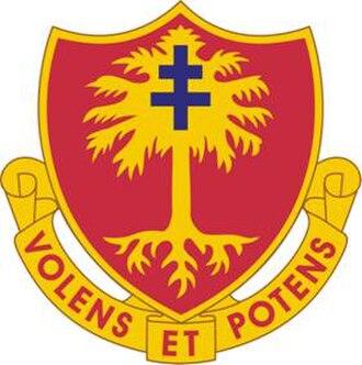 1st Battalion, 320th Field Artillery Regiment - Image: 320FARegt DUI