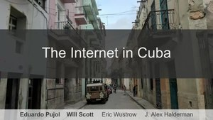 File:34C3 - The Internet in Cuba- A Story of Community Resilience.webm