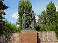35-101-0599 вулиця Чикаленка монумент робітникам з-ду Червона зірка, які загинули на війні.jpg