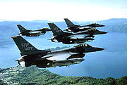 35th Fighter Wing - 4 ship formation