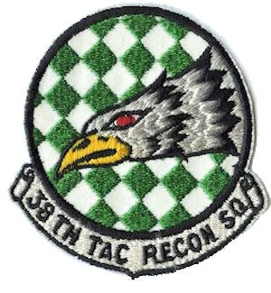 38th Tactical Reconnaissance Squadron - Emblem of the 38th Tactical Reconnaissance Squadron