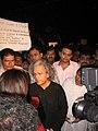 3 December 2008 Gateway protest march Anil Dharker.jpg