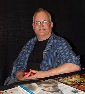 Comic Book Artist - Editor Jon B. Cooke in April 2016
