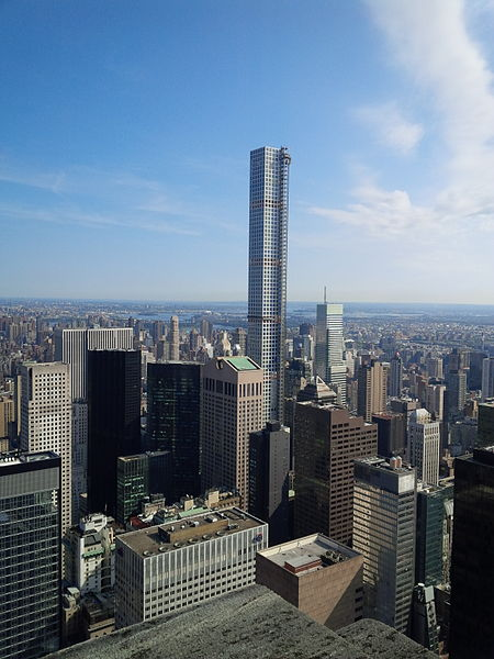 File:432 Park Avenue towers over Midtown Manhattan.jpg