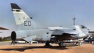 445th Flight Test Squadron YA-7F Corsair II 70-1039 static display.jpg