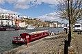 4628 red longboat in Bristol harbour (13729706484).jpg