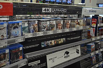 Blu-ray - Early 4K Blu-ray release at Best Buy. A 4K Blu-ray disc player was also released.