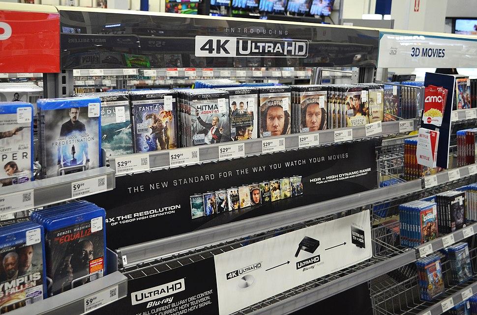 4K Blu Ray early Best Buy release