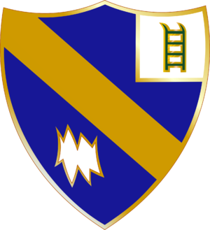 54th Infantry Regiment (United States) - Image: 54 Inf Rgt DUI
