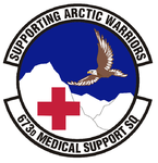 673d Medical Support Squadron emblem.png