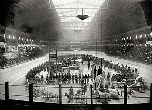 Marshall Taylor - Madison Square Garden II (pictured in 1908) in New York City, the venue of Taylor's first professional race in 1895