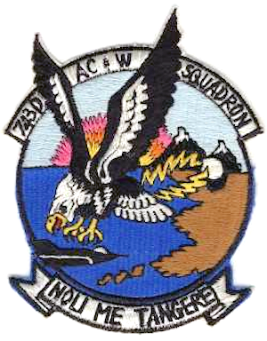 Campion Air Force Station - Emblem of the 743d Aircraft Control and Warning Squadron