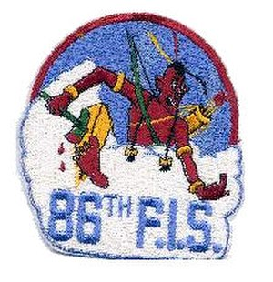 86th Fighter-Interceptor Squadron - Image: 86th Fighter Interceptor Squadron Emblem