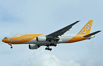 Scoot - Scoot Boeing 777-200ER in 2012