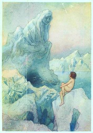 Warwick Goble - An illustration for The Water Babies
