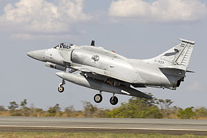 A-4AR Fightinghawk of the Argentinian Air Force (11091968456).jpg
