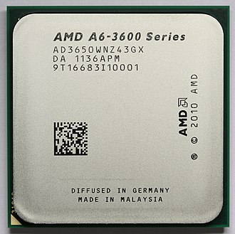 AMD Accelerated Processing Unit - AMD A6-3650 (Llano)