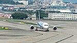 ANA Boeing 787-8 JA832A Taxiing at Taipei Songshan Airport 20160821b.jpg